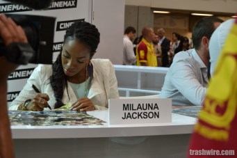 Milauana Jackson at Comic Con 2013