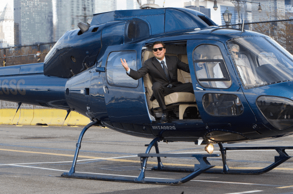 Leonardo DiCaprio stars in The Wolf of Wall Street