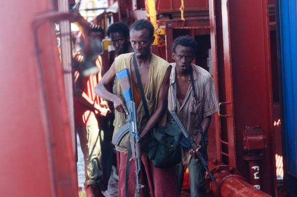 Barkhad Abdi stands out in Captain Phillips