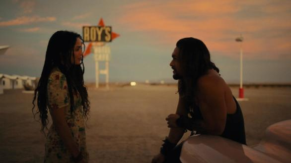 Lisa Bonet and Jason Momoa in Road to Paloma