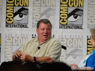 William Shatner at Comic Con 2014