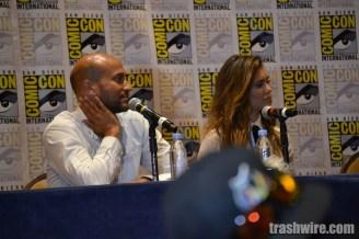 Keegan-Michael Key and Nina Dobrev at Comic Con 2014