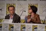 David Costabile and SJ Clarkson at Comic Con 2014