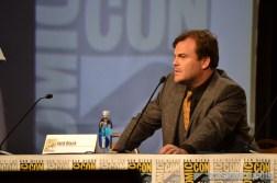 Jack Black stars as RL Stine in the Goosebumps movie - Comic Con 2014