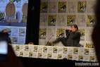 Jack Black does martial arts during the Goosebumps panel at Comic Con 2014