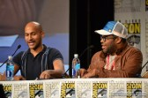 Keegan-Michael Key and Jordan Peele at the Key & Peele panel at Comic Con 2014