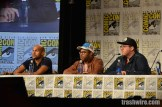 Keegan-Michael Key, Jordan Peele and Peter Atencio at the Key & Peele panel at Comic Con 2014