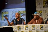 Keegan-Michael Key and Jordan Peele at the Key & Peele panel at Comic Con 2014