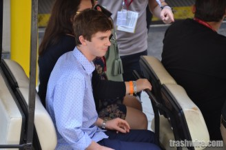 Freddie Highmore at Comic Con 2014