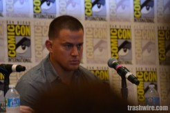 Channing Tatum at Comic Con 2014