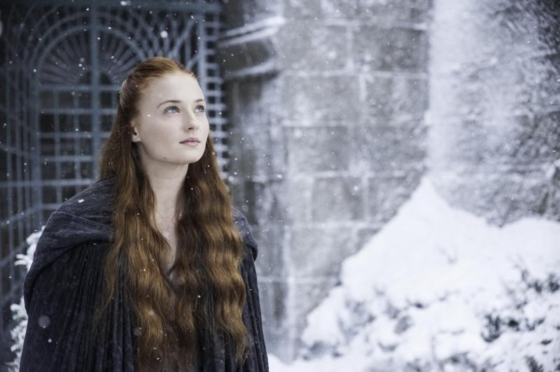 Sophie Turner as Sansa Stark in HBO's Game of Thrones
