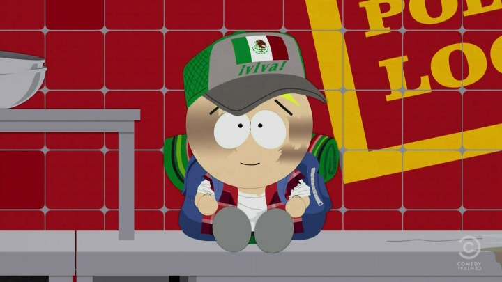 Butters becomes Mantequilla in South Park's Last of the Meheecans
