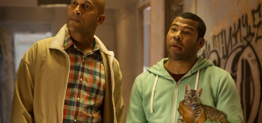 "KEEGAN-MICHAEL KEY as Clarence and JORDAN PEELE as Rell in New Line Cinema's action comedy ""KEANU,"" a Warner Bros. Pictures release."