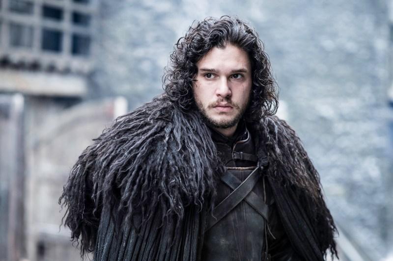 Kit Harington as Jon Snow on HBO's Game of Thrones
