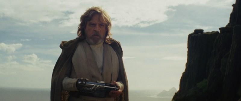 Mark Hamill returns as Luke Skywalker in Star Wars Episode VIII: The Last Jedi