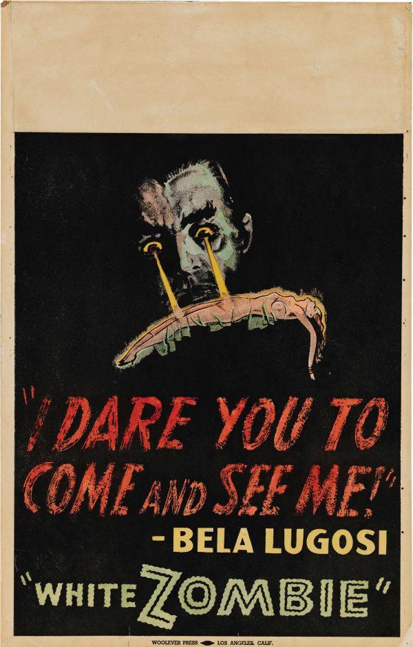 White Zombie 1932 Trashy Movie Posters