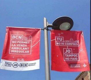 Banderolas ayuntamiento