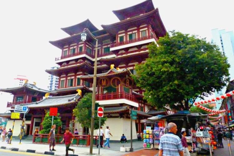 Templo budista Singapur