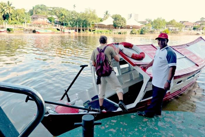 Barca en Kuching