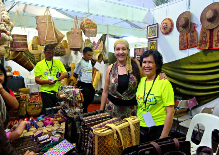 La feria NTFP, No Timber Forest Products en Kuching
