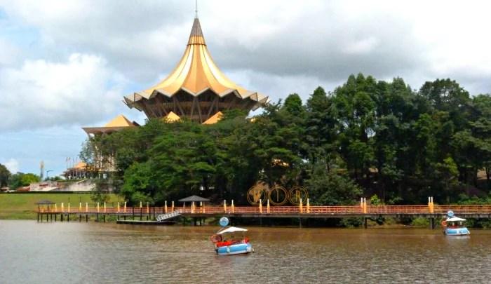 Dun Building. Kuching
