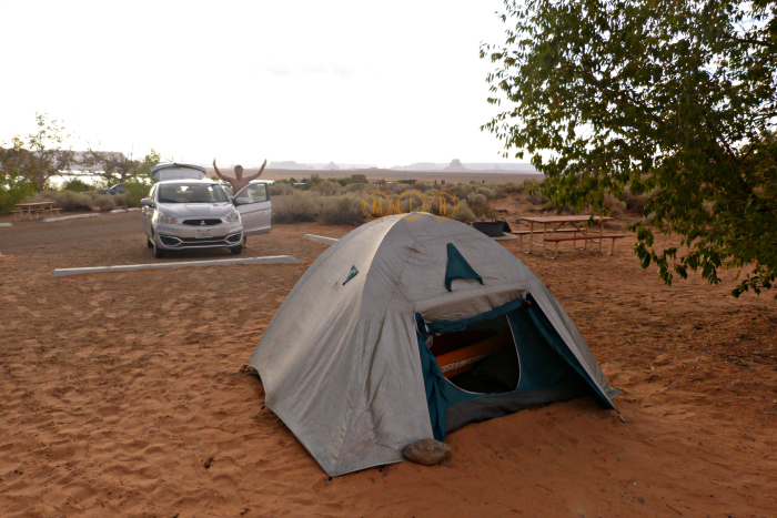 Camping Lago Powell