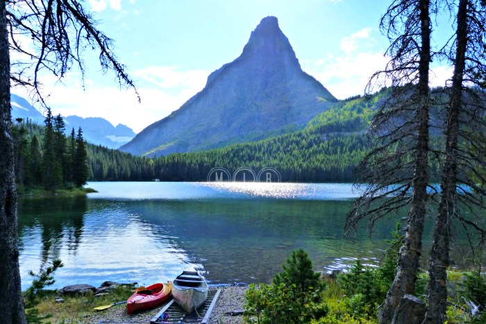 Glacier Swiftcurrent Lake