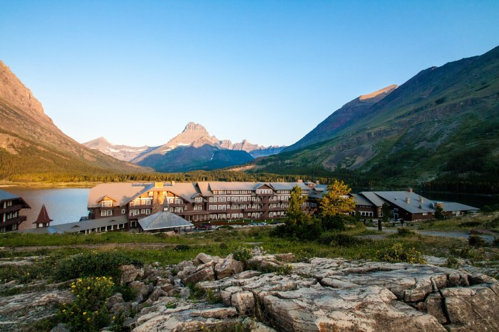 Glacier National Park lodges