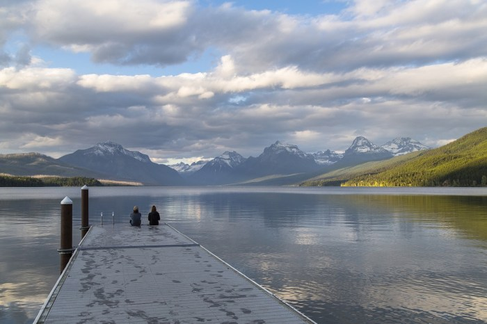 Glacier National Park Fish Creek Lake McDonald