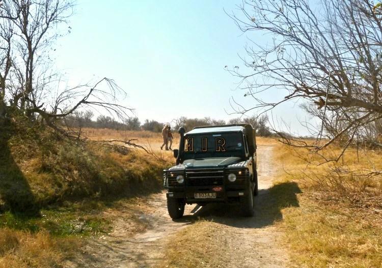 Conducir en Botsuana