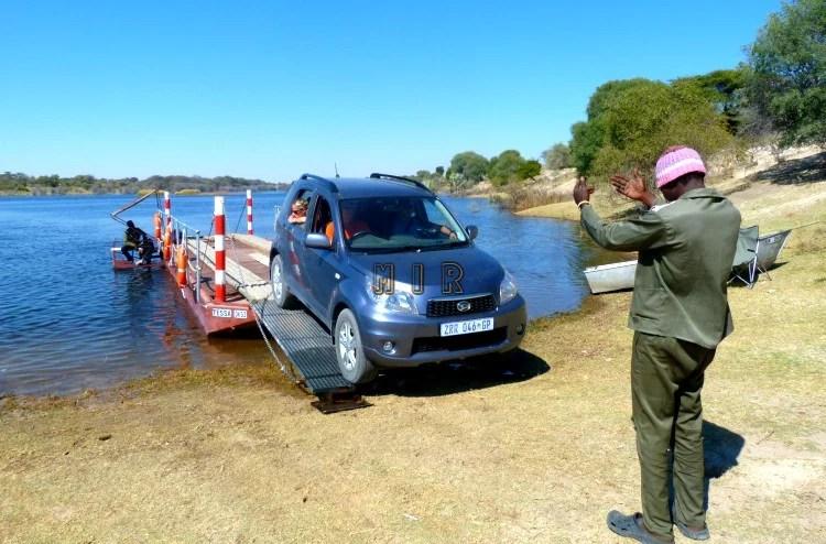 Botswana en coche
