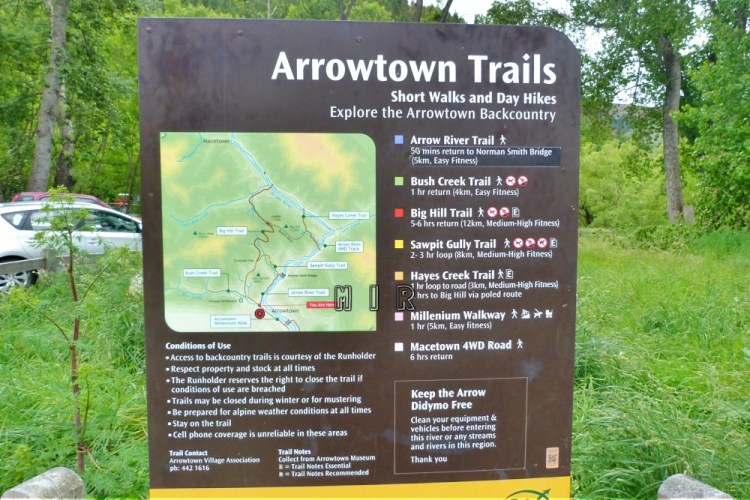 Arrowtown Trails