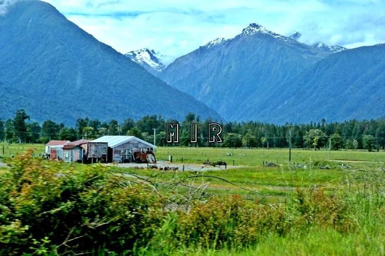 Alrededores de Fox Glacier