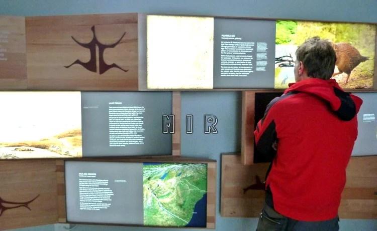 Pukaki Lake visitor center