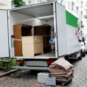 5423388 - house move van with furniture and tools