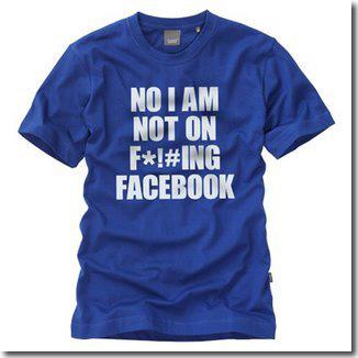 No uso el puto Facebook