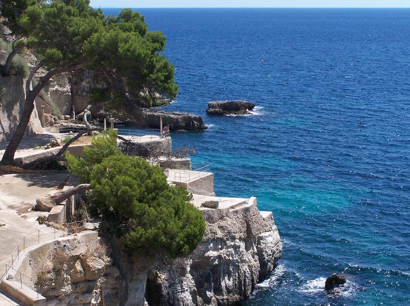 Imagen de la Playa Cala Major en Palma de Mallorca