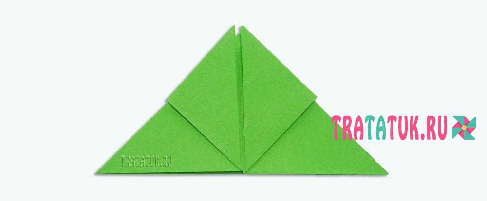 Оригами бақасы