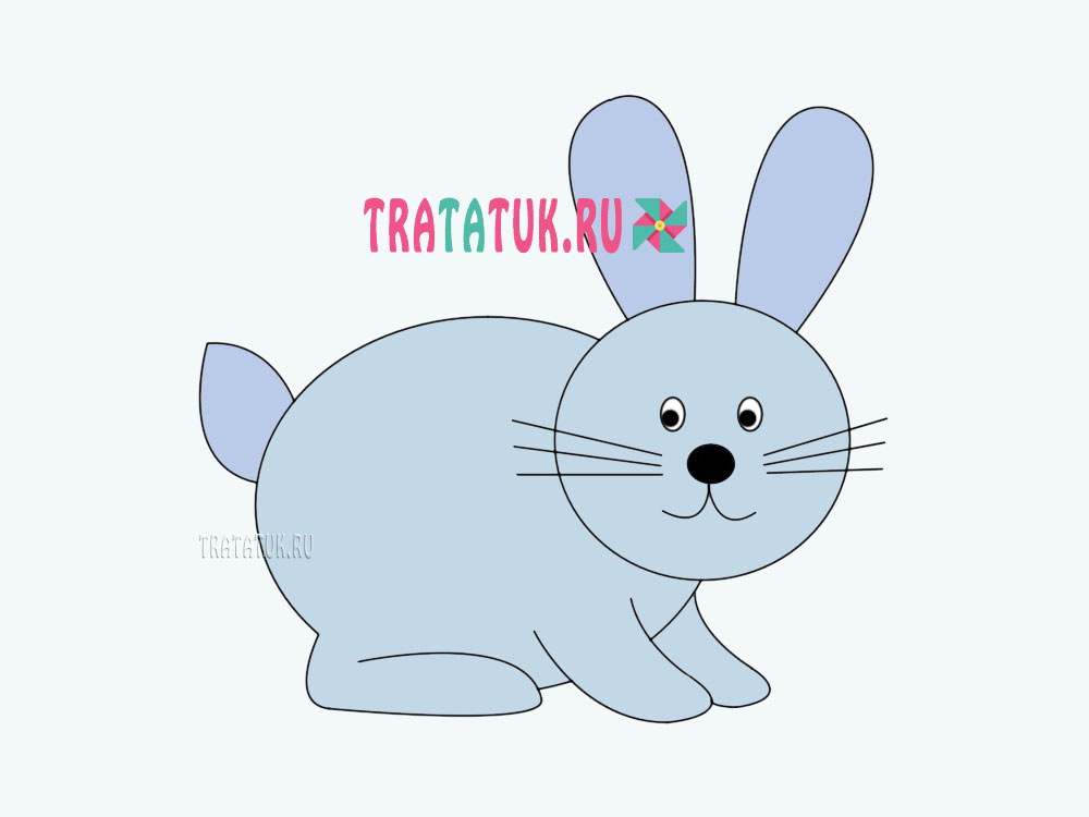 Hvordan man tegner en hare