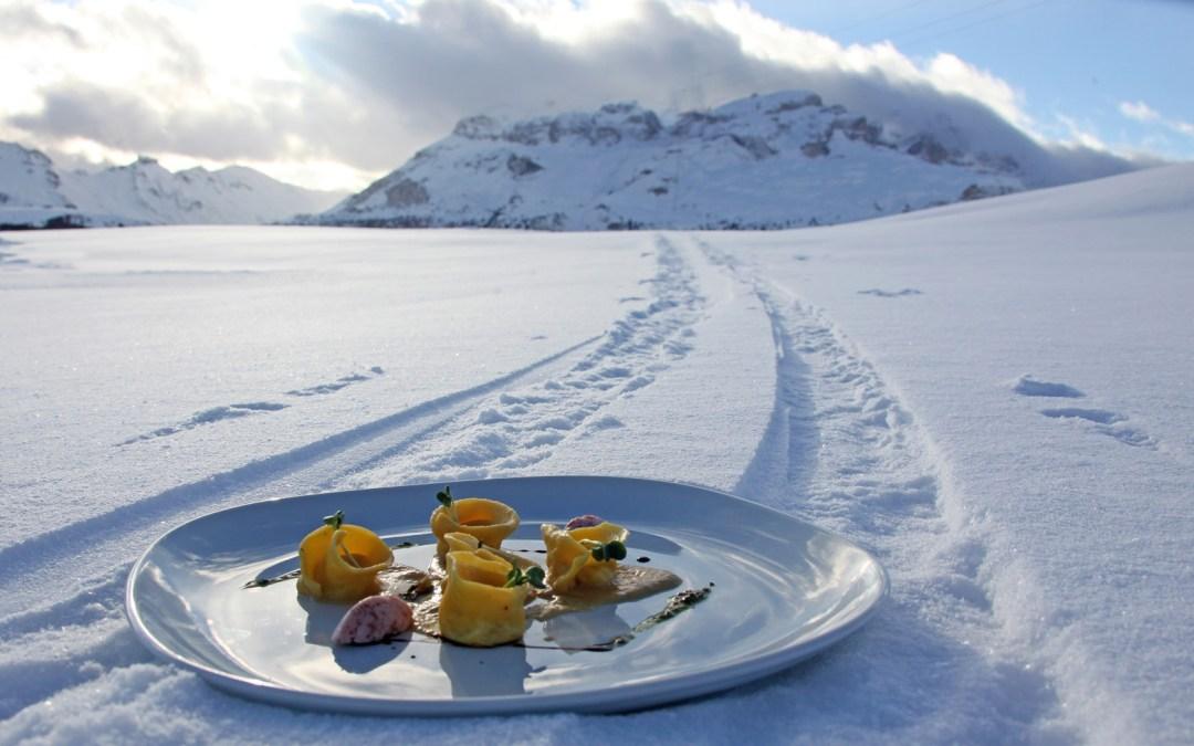 Winiarskie pożegnanie sezonu narciarskiego wsłonecznych włoskich Alpach. Kuchnia. Magazyn dlaSmakoszy (Marzec 2017)