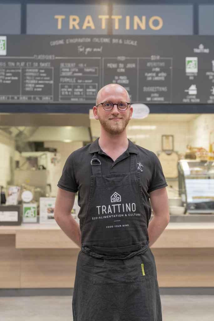 Thibault Tratti'team cuisine d'inspiration italienne bio et locale
