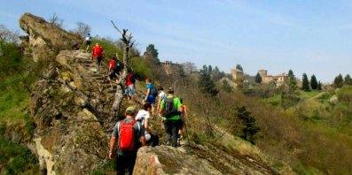 Trekking in val Chiarone con i Cinghiali della Val Tidone