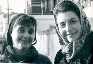 С Камиллой Грей. Лондон, 1967