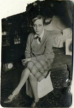 Ольга Николаевна Ланде (тетя). 1923