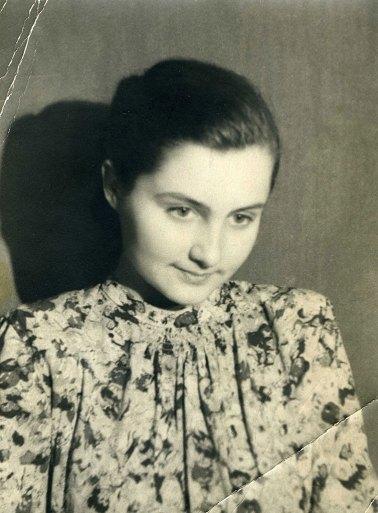 Ленинград, 1 курс ГЛУ. 1945-1946 у.г.