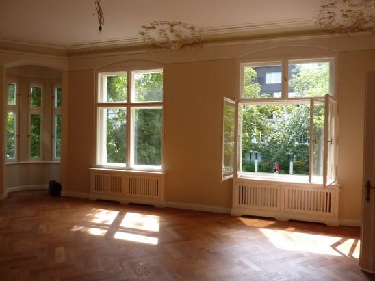 Erstbezug einer aristokratischen Wohnung in Bestlage in