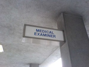 Medical examiner office