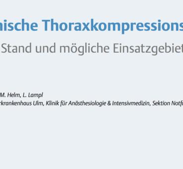 Thoraxkompressionsgeräte