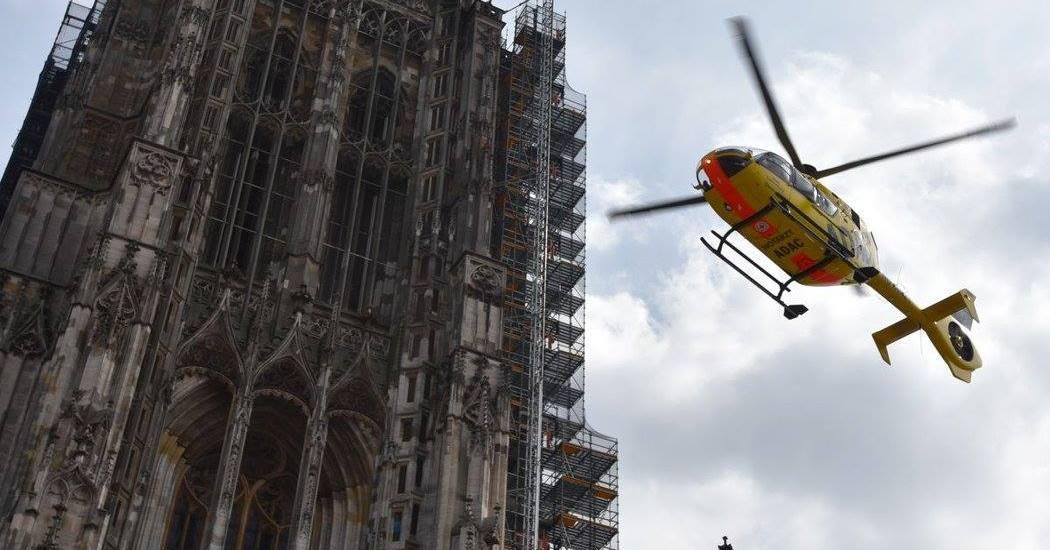 Rettungshubschrauber Ulmer Münster
