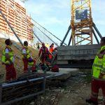 Großübung Baustelle